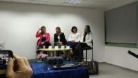 בפאנל נשים מעוררות השראה ויצו ירושלים
