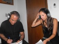 עם דורון מזר בעבודה על שדרות האהבה